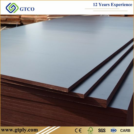 Shuttering Construction Timber Wood Popular Brown/Black Film Faced Plywood Board