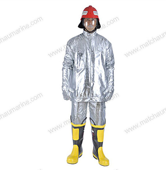 Fireman's Outfit Heat Protective Suit for Fire Fighter