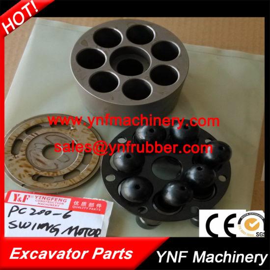 High Self-Priming Capability Excavator Hydraulic Pump Parts for Komatsu PC200-6