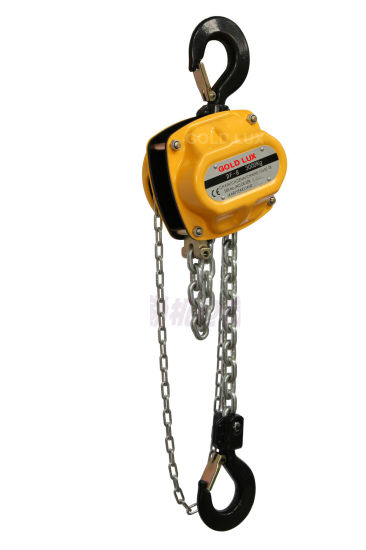 Yale Type Manual Chain Hoist with 3ton pictures & photos