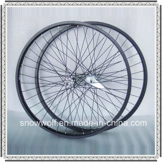 Kt Coaster Brake Front and Rear Wheels with Alloy Rim (AWHS-310-2)