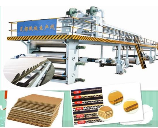 3 Layer 5 Layer Corrugated Paperboard Production Assemble Line pictures & photos