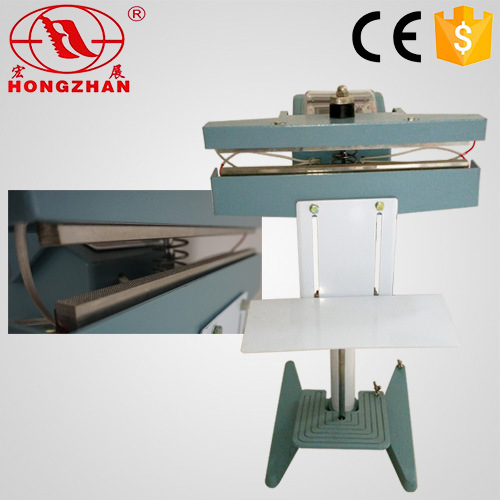 Double Side Impulse Sealing Pedal Machine with Electrical Wire and Electric Heat Tube for Tissue Tea Leaf and Daily Commodity pictures & photos