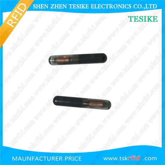 125kHz 134.2kHz RFID Glass Tube Electronic Label