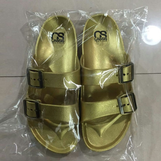 Hot Sale Classic Unisex Plenty Color EVA Sandal Slipper (FY1601-1) pictures & photos
