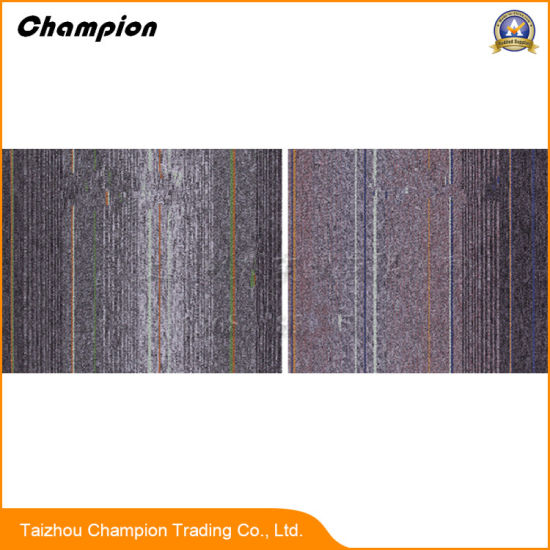 Commercial Tufted Loop Pile PVC Backing Carpet Tiles Indoor Office Carpet  Tile, Carpet Tiles PVC Flooring Tiles