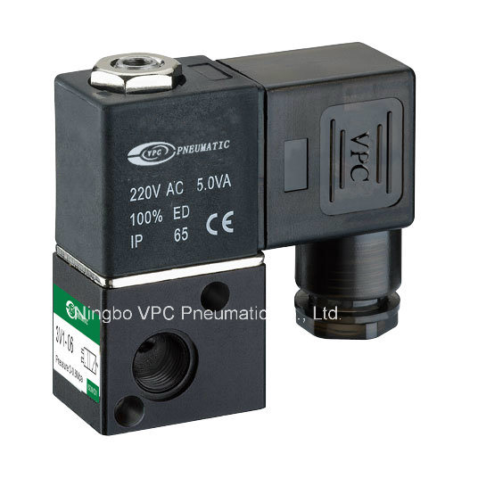 3V1-06 Series Solenoid Valve Airtac Type Valve pictures & photos