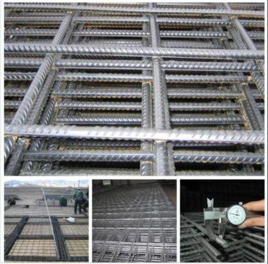 China 6X6 Concrete Reinforcement Wire Mesh/Deformed Steel Bar Mesh ...