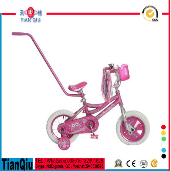 Promotion Kids Products Cheap Bike Bicycle for Children with Push Bar/Box/Helmets pictures & photos