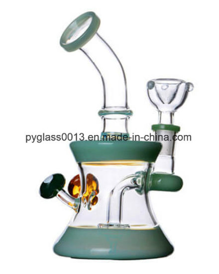 2018 Colorful USA Decoration Glass Water Smoking Pipe with Nice Price