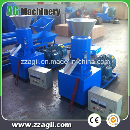 Small Sawdust Pellet Mill Flat Plate Sawdust Pellet Making Machine pictures & photos