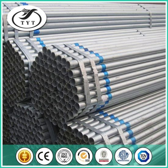 ASTM A53 Schedule 40 Galvanized Steel Pipe for Construction Building Material pictures & photos