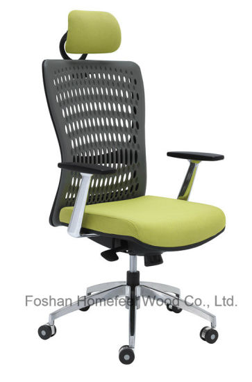 Modern High Back Executive Swivel Mesh Office Chair with Headrest (HF-H001AF2) pictures & photos