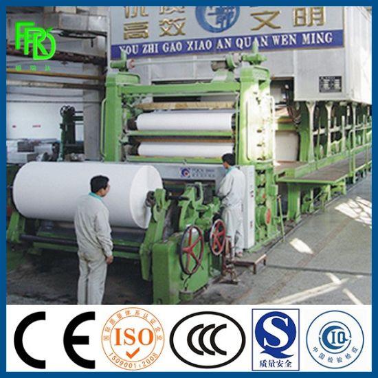 2400mm 30 T/D Used Paper Culture Paper Office A4 Copy Paper Making Machine