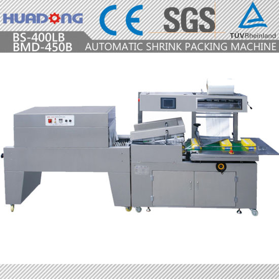Automatic Food L-Bar Sealing and Shrinking Packing Machine
