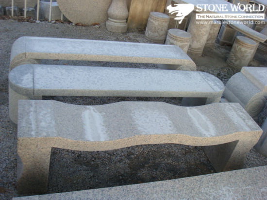 Customize Various Granite Stone Chair for Garden or Park pictures & photos