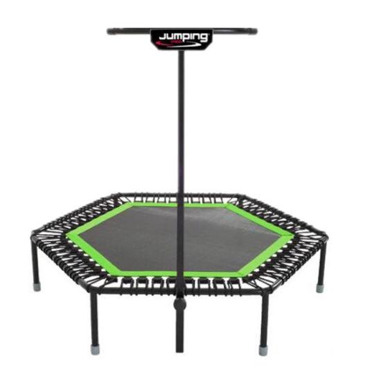 50inch Exercise Fitness Trampoline Jump Training Steel Frame Rebounder Gym