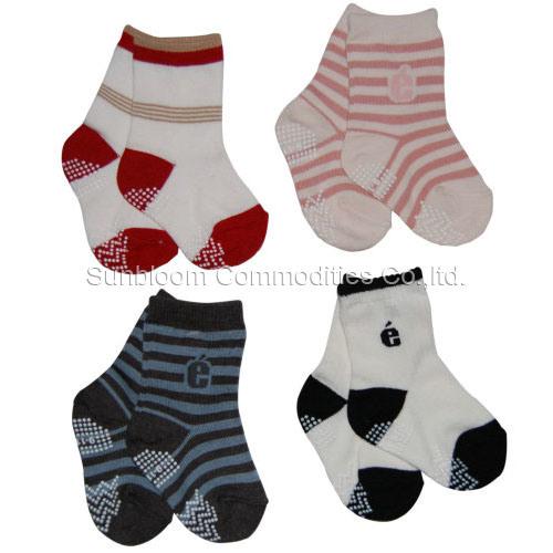 Non Slip Cotton Socks 1-3 Years Old Baby Socks Kids Socks Sports Socks Cotton Socks
