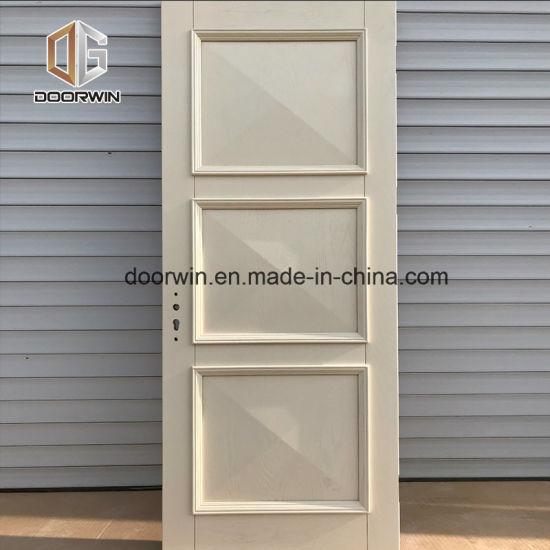 China White Oak Wood Interior Raised Panel Door China Oak Solid