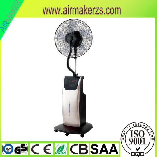 "16"" Water Spray Fans Summer Cooling Standing Misting Fan SAA/GS/CB"