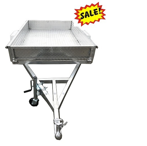 2018 New Style! ! Factory Direct Aluminum Alloy Box Farm Semi Trailer for Sale