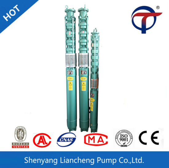 Qj High Pressure Centrifugal Submersible Borehole Pumping Water Pump