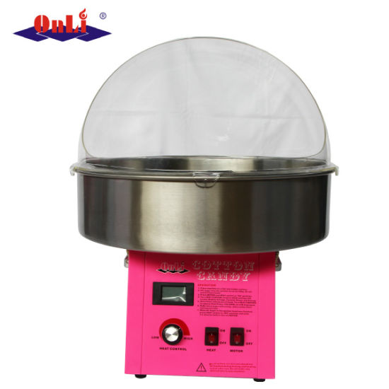 Professional Commercial Digital Cotton Candy Floss Machine with Bubble Cover pictures & photos