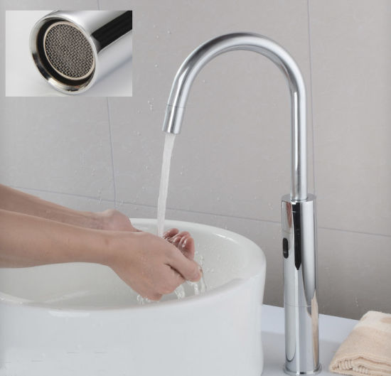 China Tall Automatic Sensor Kitchen Faucet For Sink China Kitchen