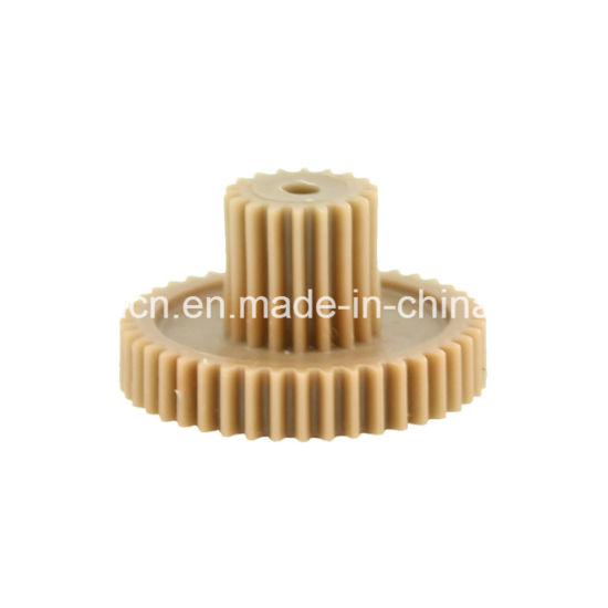 CNC High Precision Plastic Double Helical Gear for Gearbox/Reverse Gear/Spiral Worm Gear pictures & photos