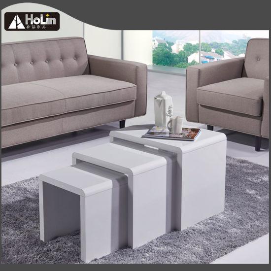 Prime China Black High Gloss Coffee Table Tea Table Nesting Tables Inzonedesignstudio Interior Chair Design Inzonedesignstudiocom