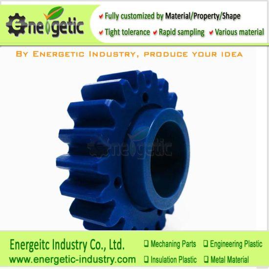Mc Nylon High Load and Wear Resistant Industrial Suspension Winch Drive Turbine/Mini Sprocket Gear / Pulley Gear/Bevel Gears/Plastic Cogs/Spur Gears/Delrin Gear