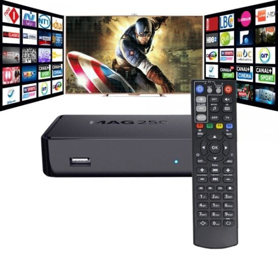 Cheapest Price From Direct Supplier IPTV Set Top Box Mag 250 Mag254 Mag 260  with Ce Certificate IPTV Box