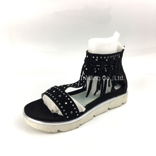 Ankle Wrap Around Sandals Womens Ladies Shoes