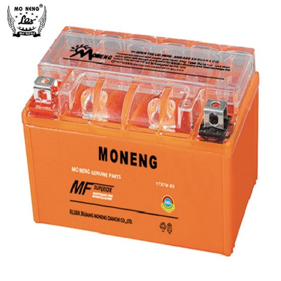 Ytx7w-BS Motorcycle Parts Rechargeable Gel Motorcycle Battery