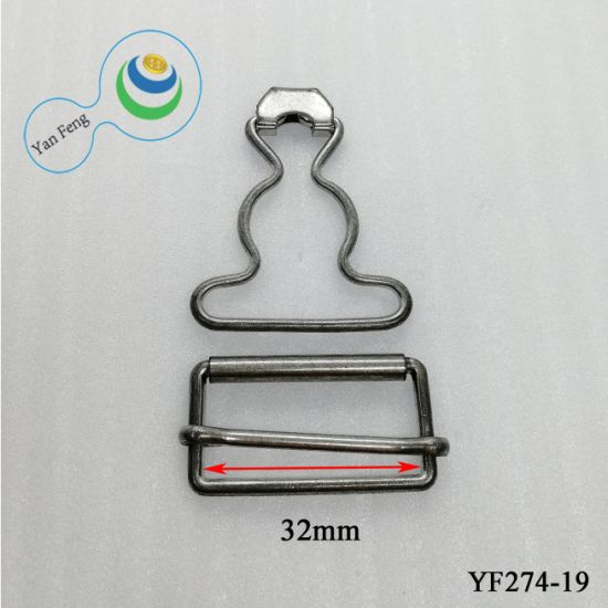 ID32mm Brass Belt Buckle/Line Buckle/Suspender Buckle Hook for Clothes