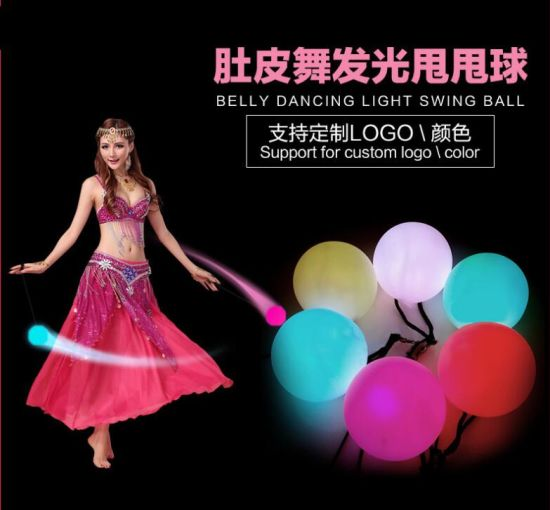Colorful LED Flashing Swing Ball LED Swing Ball pictures & photos