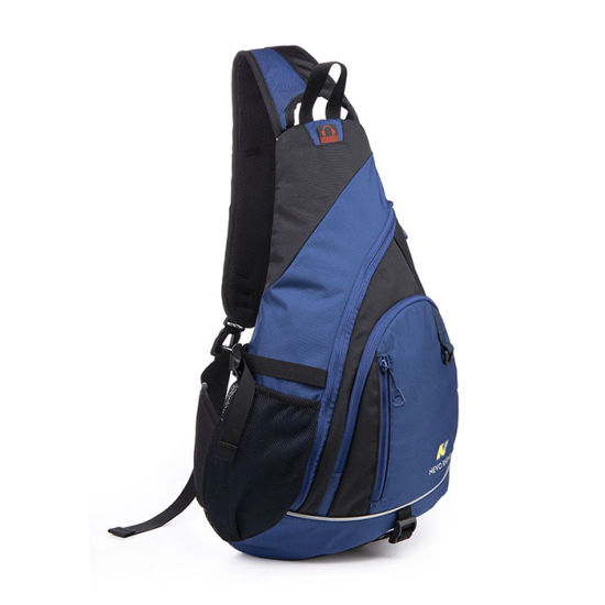 Women Men Nylon Crossbody Shoulder Chest Sport Cycle Sling Bag Travel Backpack