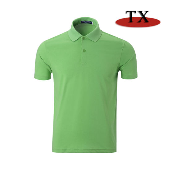 Good Price Best Quality 100% Cotton 240GSM Pique Polo Shirt
