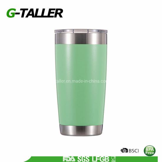 Double Wall Stainless Steel Travel Coffee Mug Tumbler with Lid 20oz pictures & photos