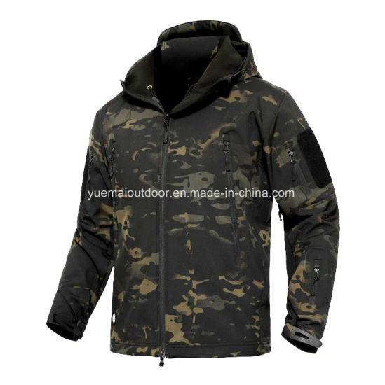 Military Tactical Combat Airsoft Lamilated Sharkspin Softshell Jacket