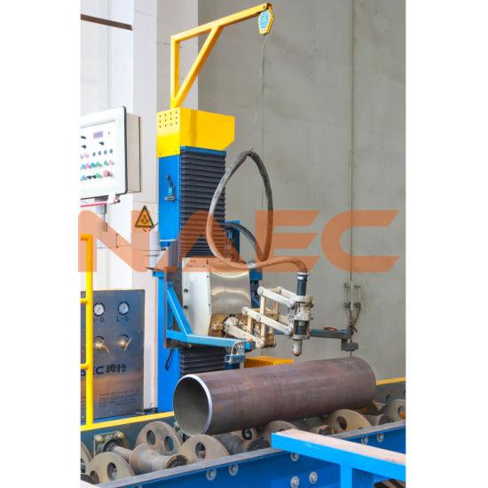 "Two-Axis CNC Flame/ Plasma Pipe Cutting/ Profiling Machine 2-24"""