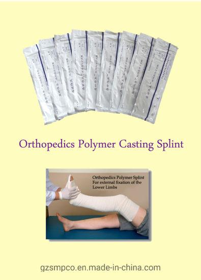 Orthopedics Synthetic Polymer Casting Splint