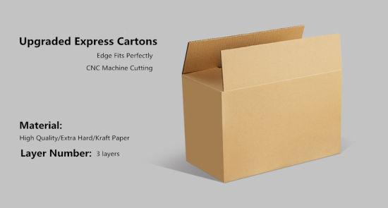 13*8*0.9 Cm Custom Shipping Express Packaging Corrugated Paper Carton Box