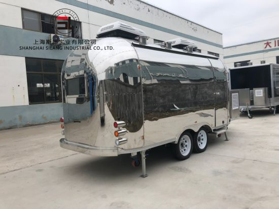 Silang Airstream Mobile Food Truck Tow Truck Truck Accessories