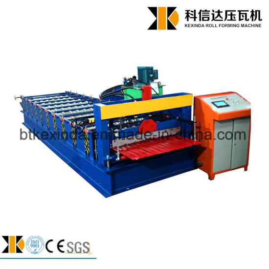 Kexinda 988 Corrugated Galvanized Roll Forming Machine pictures & photos