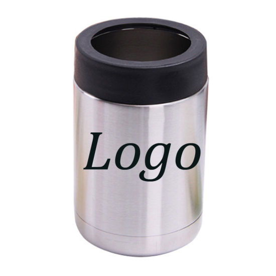 Vacuum Insulated Can Keeps Standard Size Ss18/8 Beverage Insulator Beer Holder 12oz