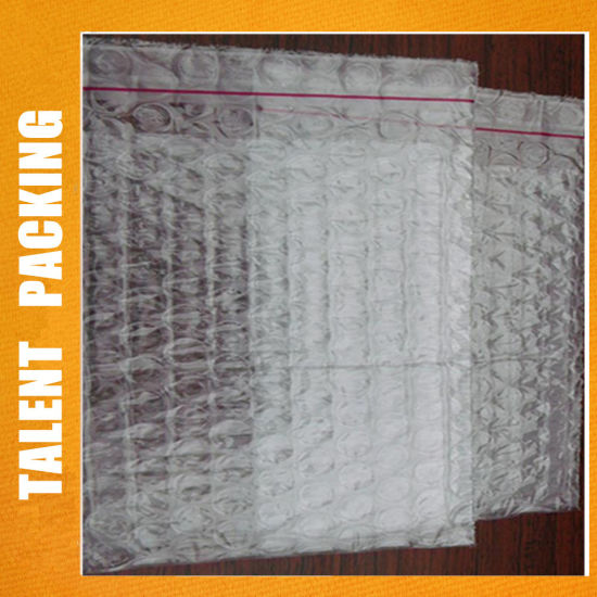 Custom Clear Double Sided Self Adhesive Plastic Padded Shipping Bubble Bags