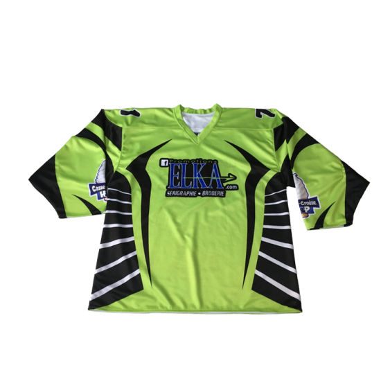 2019 Top Seller Hockey Jersey Printing Sublimation Ice Hockey Jersey Made in China