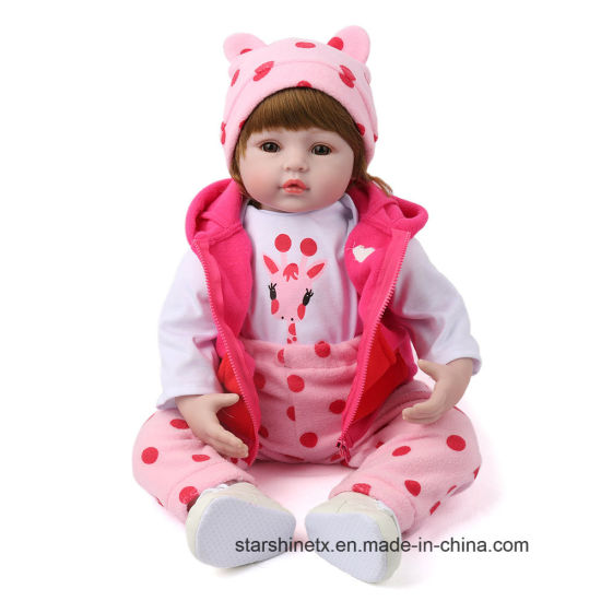 Soft Touch 55 Cm Bebe Reborn for Kids Toy