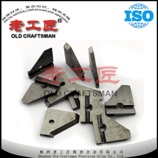 China High Precision Tungsten Carbide Knife For Woodworking Tools